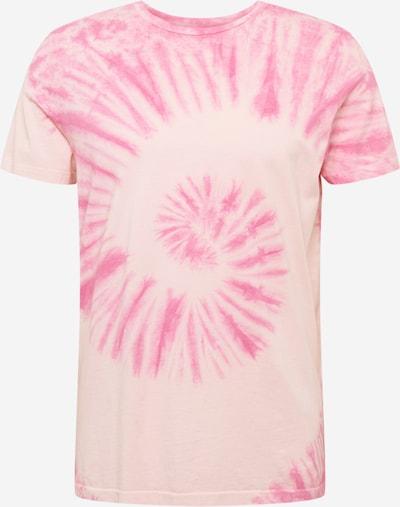 Redefined Rebel T-Shirt 'Carson' in hellpink / dunkelpink, Produktansicht