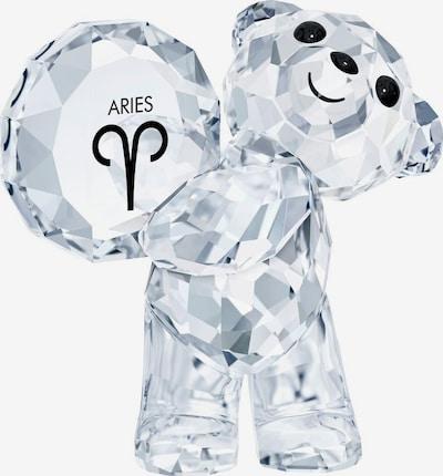 Swarovski Dekofigur 'Kris bear- aries ' in schwarz / transparent, Produktansicht