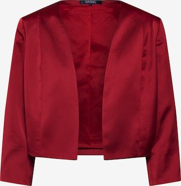 SWING Bolerko w kolorze czerwony