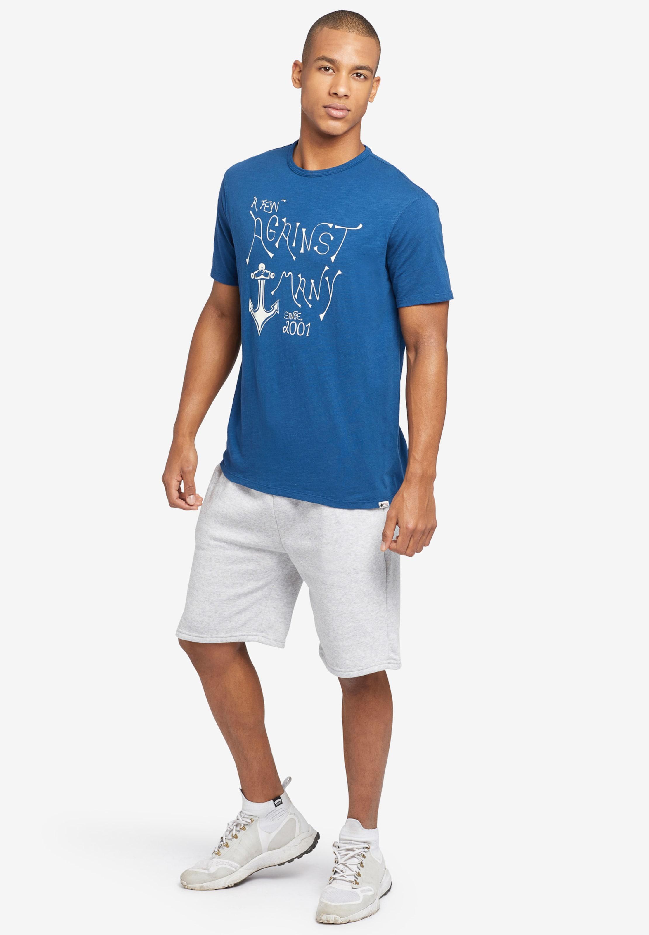 Anchor' Khujo shirt 'finn BlauWeiß In T T1J3lcFK