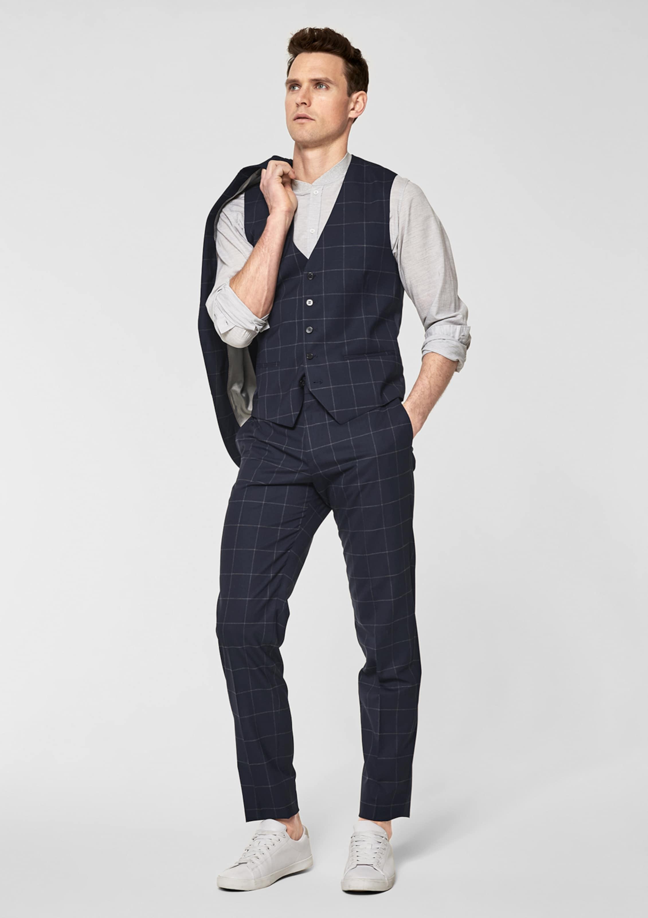 Sehr Günstiger Preis s.Oliver BLACK LABEL Cesano Slim: Glencheck-Anzughose Für Schön Bulk-Design Billig Verkauf Bestseller Rabatt Shop-Angebot 7iMKO3