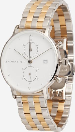 Kapten & Son Analogové hodinky 'Chrono Bicolor Steel' - zlatá / stříbrná, Produkt