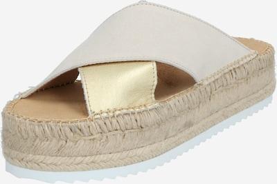 espadrij l´originale Pantolette 'Croisette' in beige, Produktansicht