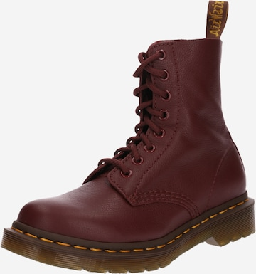 Dr. Martens Schnürstiefelette 'Pascal' in Rot