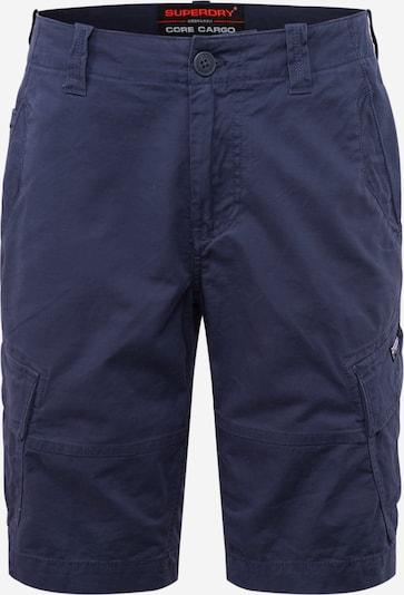 Superdry Pantalon cargo en bleu marine, Vue avec produit