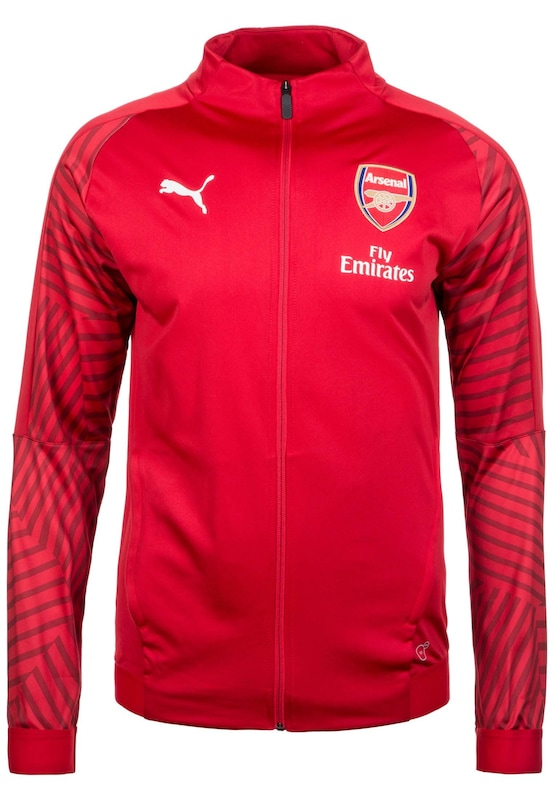 PUMA Jacke 'FC Arsenal Stadium' in rot | ABOUT YOU