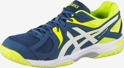 ASICS Sportschoen 'Gel-Hunter ' in de kleur Blauw / Neongeel, Productweergave