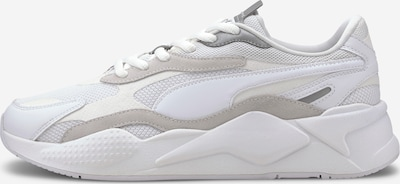 PUMA Trampki niskie 'RS-X³ PUZZLE' w kolorze srebrny / białym: Widok z przodu