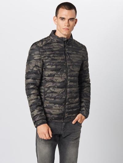 INDICODE JEANS Prehodna jakna 'Amare' | barva blata / zelena barva: Frontalni pogled