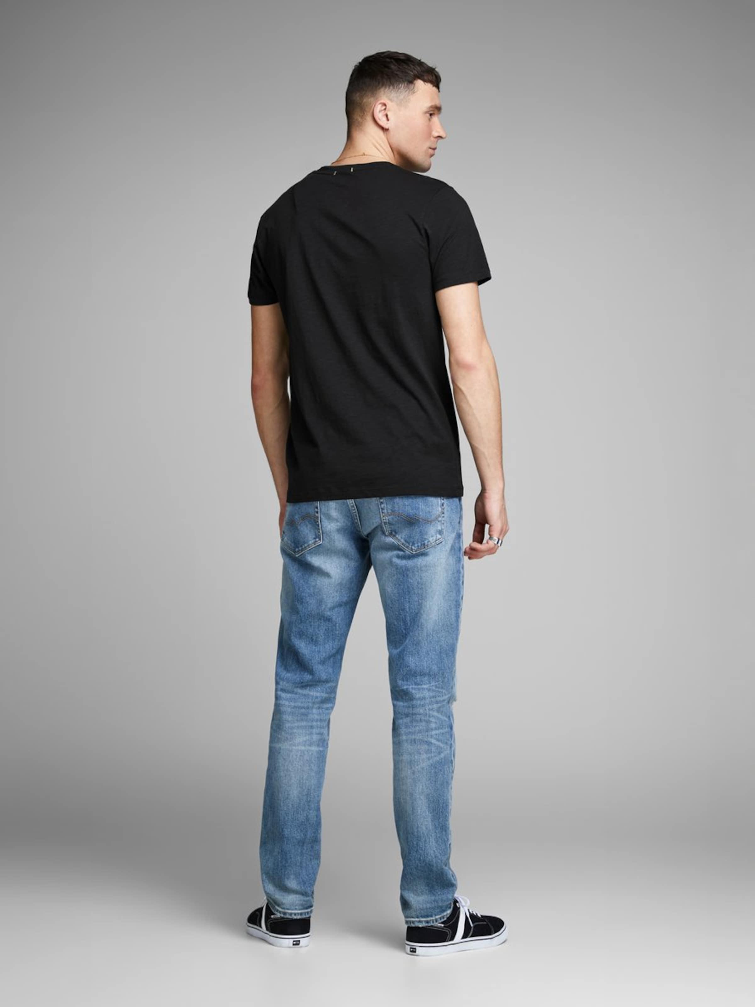 En Jackamp; Jones T shirt Noir SUpVLqMGz