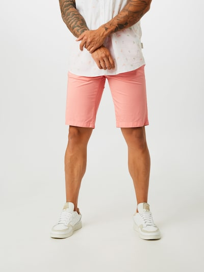 GUESS Pantalon chino 'MYRON' en rose: Vue de face