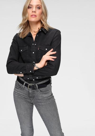 LEVI'S Bluzka 'Essential Western' w kolorze czarnym, Podgląd na modelu(-ce)