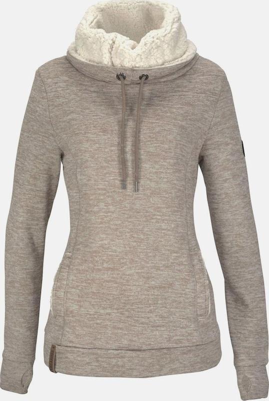 KangaROOS Sweatshirt in beige   beigemeliert  Große Preissenkung
