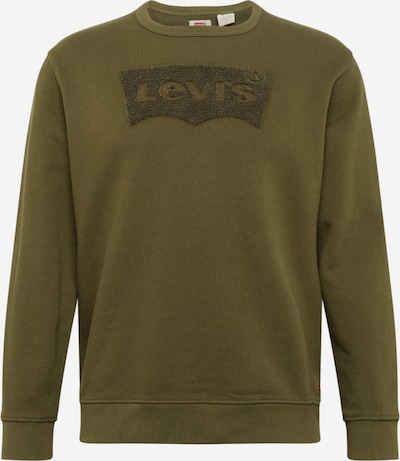 LEVI'S Sweat-shirt 'GRAPHIC CREW B' en olive, Vue avec produit