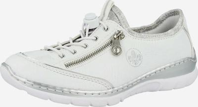 RIEKER Schnürschuhe in silber / weiß, Produktansicht