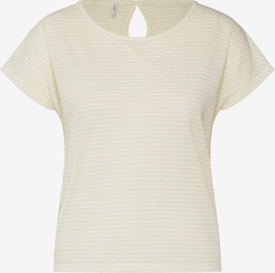 ONLY Shirt 'onlWINNIE' in gelb / weiß, Produktansicht