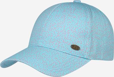 Șapcă 'Memphis' ESPRIT pe turcoaz / roz: Privire frontală
