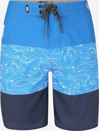 Picture Organic Clothing Badehose in blau / hellblau / dunkelblau, Produktansicht