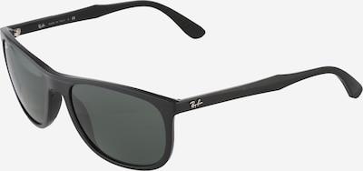 Ray-Ban Sonnenbrille mit abgerundeten Gläsern in grün / schwarz, Produktansicht