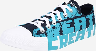 CONVERSE Baskets basses 'CTAS OX' en bleu marine / turquoise / blanc, Vue avec produit