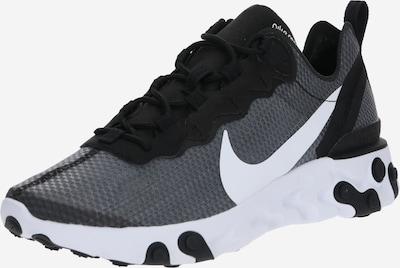 Nike Sportswear Sneakers laag 'NIKE REACT ELEMENT' in de kleur Zwart / Wit, Productweergave