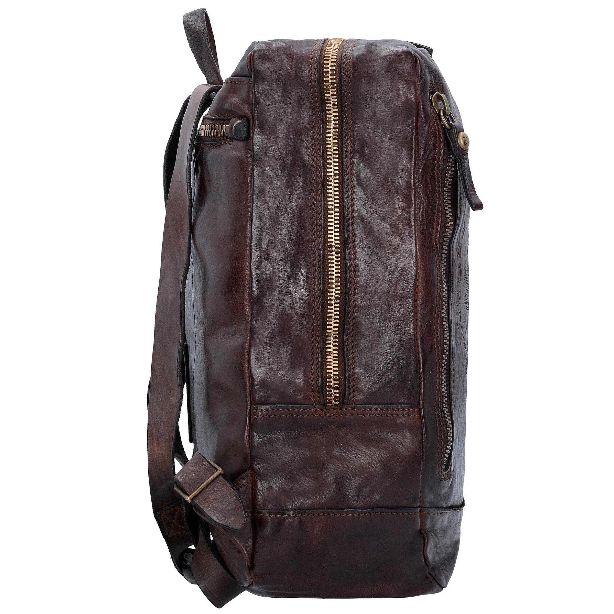 Mode-Stil Online-Verkauf Campomaggi Traditional City Rucksack aus Leder 35 cm Viele Arten Von Günstigem Preis Niedrigsten Preis Online Discounter Günstig Kaufen Best Pick YckewG5