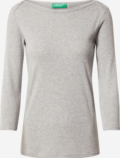 UNITED COLORS OF BENETTON T-shirt en gris clair, Vue avec produit