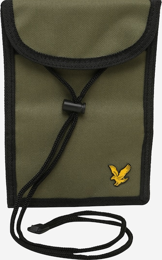 Lyle & Scott Crossbody bag in yellow / khaki / black, Item view