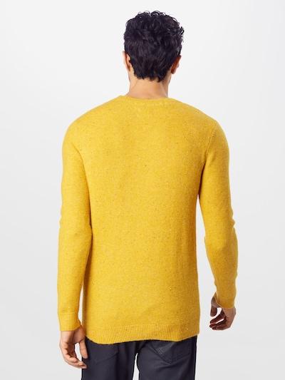 TOM TAILOR Pulover | rumena barva: Pogled od zadnje strani