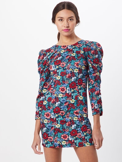 Pepe Jeans Kleide 'Drew' in dunkelblau / mischfarben, Modelansicht