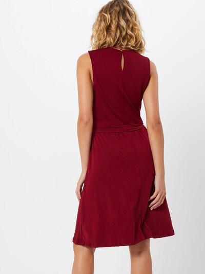 ABOUT YOU Obleka 'Larisa' | bordo barva: Pogled od zadnje strani