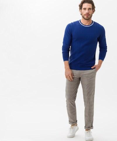 BRAX Pullover ' Rick ' in blau: Frontalansicht