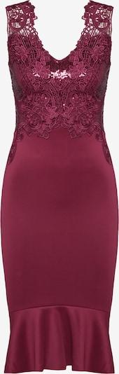 Lipsy Kleid 'WS CHRRY SQN FLT HM' in beere, Produktansicht