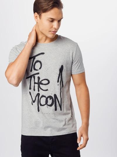 EINSTEIN & NEWTON Majica u siva / crna: Prednji pogled
