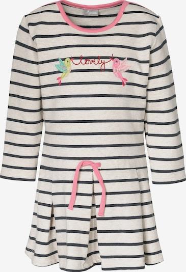 SIGIKID Kleid in nachtblau / pink / weiß, Produktansicht