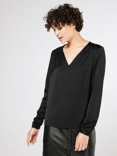 VILA Shirt 'Vicava' in schwarz, Modelansicht