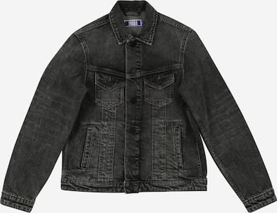 Jack & Jones Junior Jacke 'ALVIN' in black denim, Produktansicht