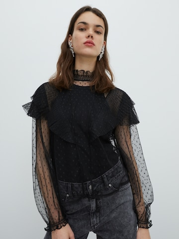 melns EDITED Blūze 'Jolene'