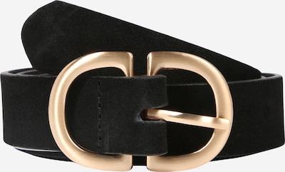 PIECES Gürtel in gold / schwarz, Produktansicht