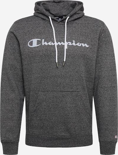 Champion Authentic Athletic Apparel Sweatshirt in dunkelgrau / weiß, Produktansicht