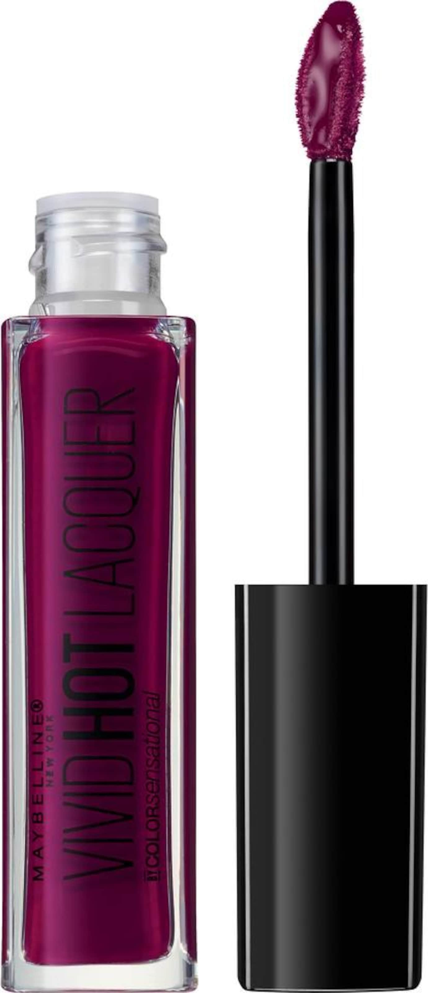 MAYBELLINE New York 'Color Sensational Vivid Hot Laquer Lippenstift', Lippenstift