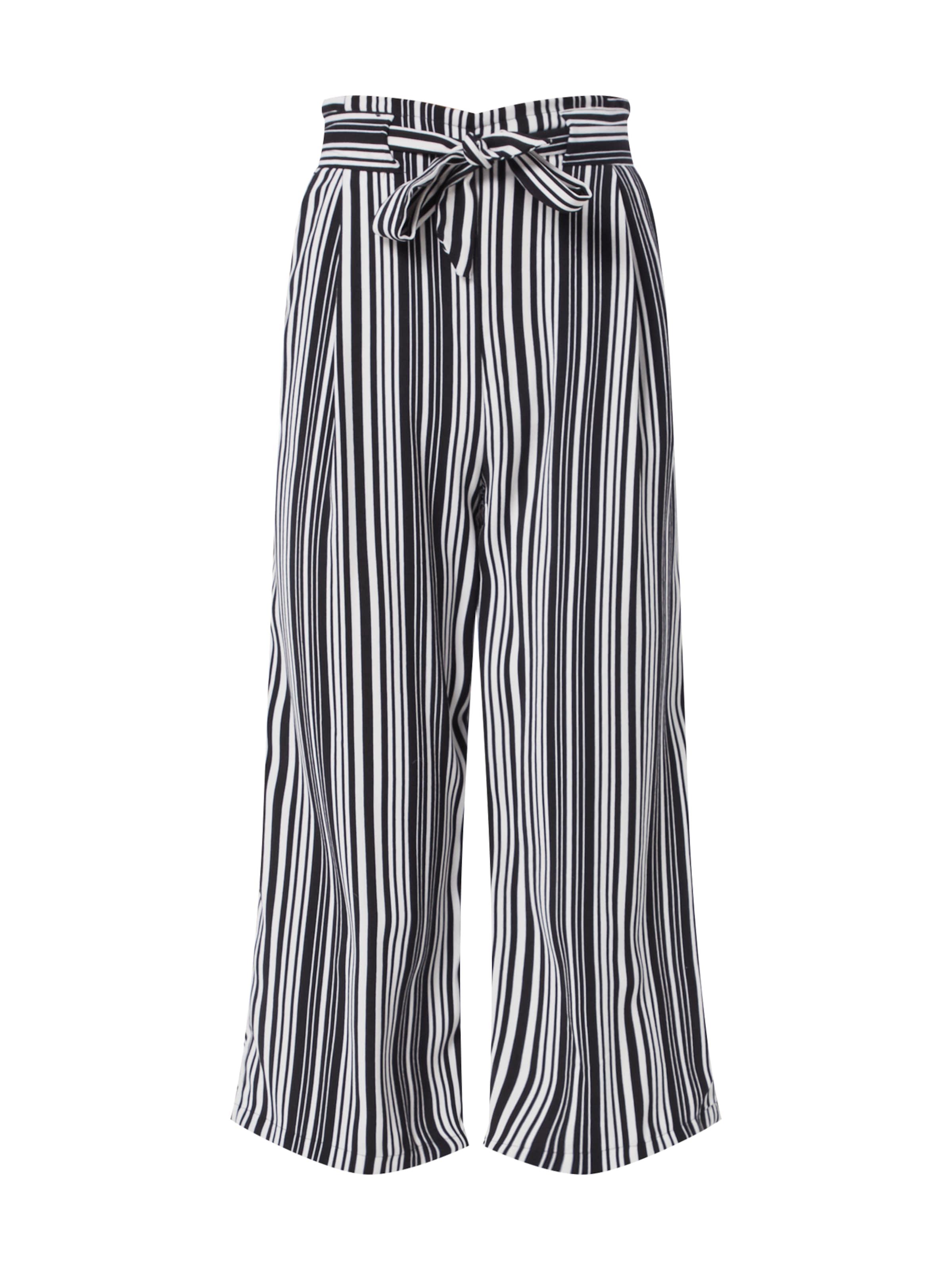 Look Crop' SchwarzWeiß In Stripe Waist Hose Tie Vinnie 09 New '28 Ww Emerald MVSqpUzG