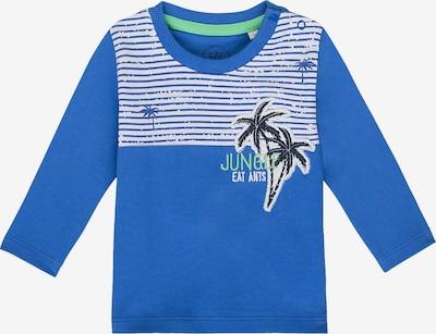 EAT ANTS BY SANETTA Langarmshirt in blau / mint / weiß, Produktansicht
