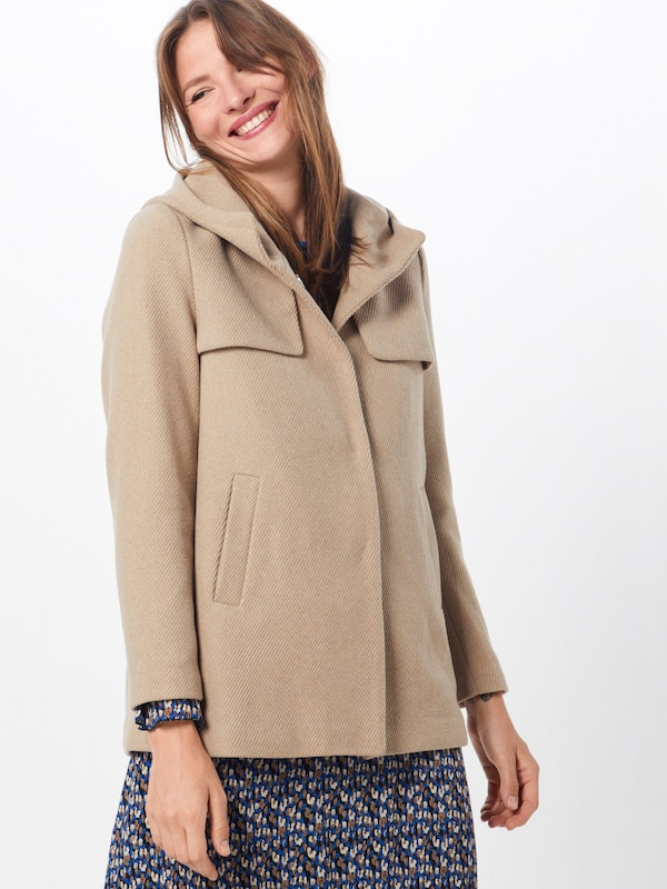 ABOUT YOU Jacke 'Carola' in beige: Frontalansicht
