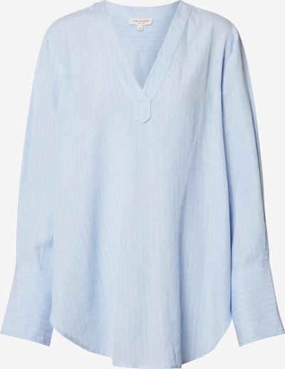 SELECTED FEMME Blouse 'FABBY' in de kleur Lichtblauw, Productweergave