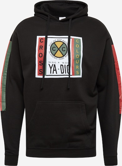 CROSS COLOURS Sweatshirt in schwarz, Produktansicht