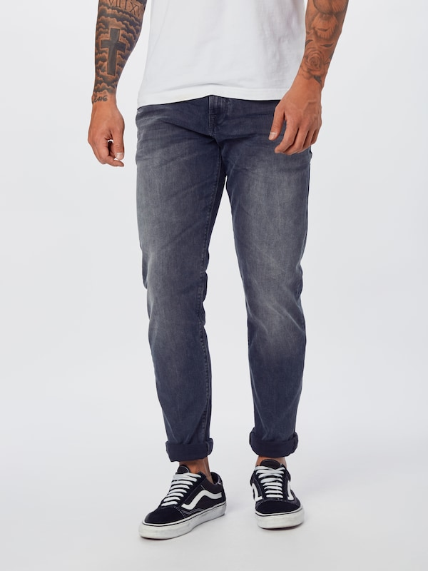 LTB Jeans 'HERMAN' in black denim, Modelansicht