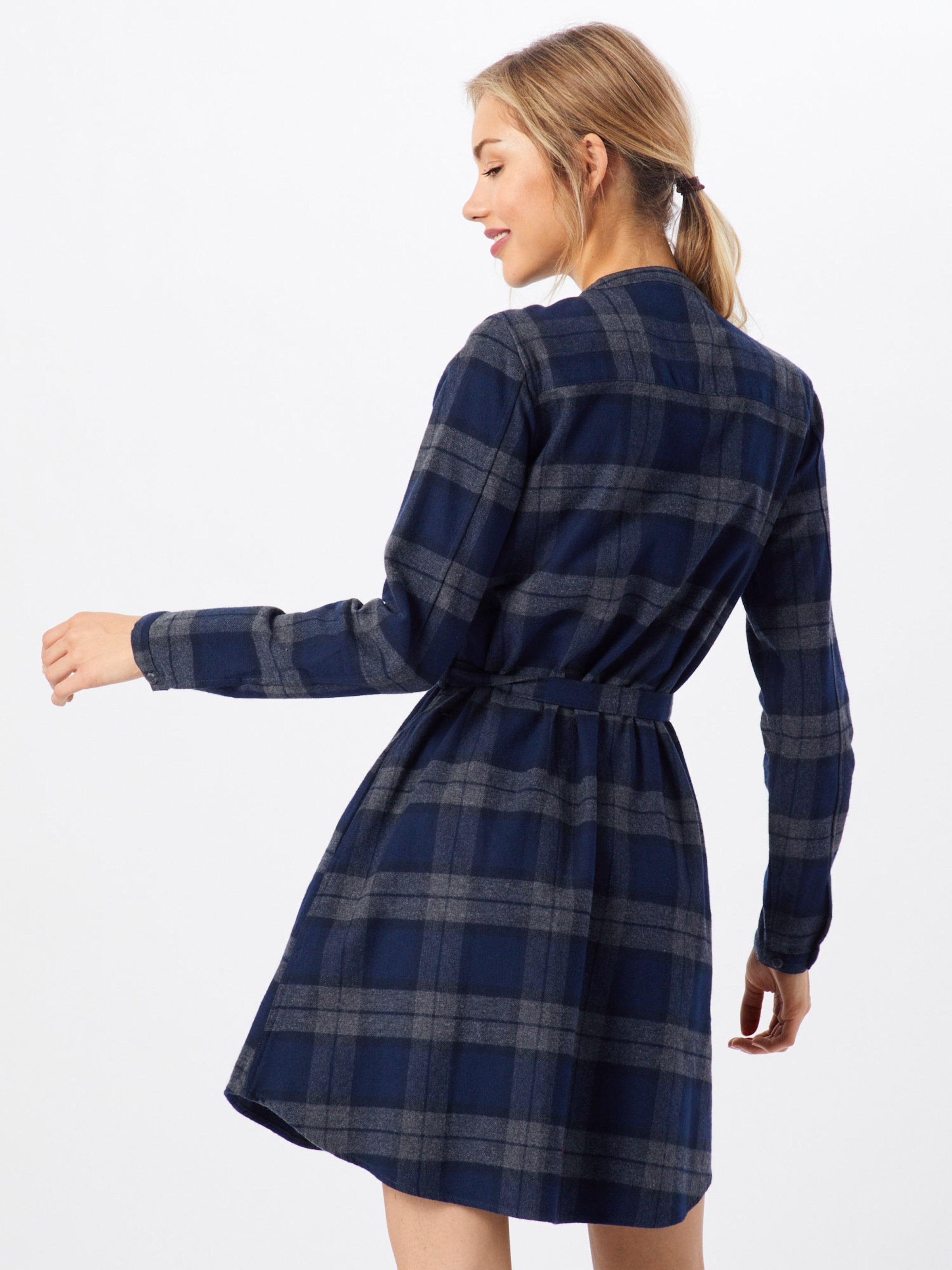 'lumberdress' chemise Bleu En Derbe Marine Robe c3R4jq5AL