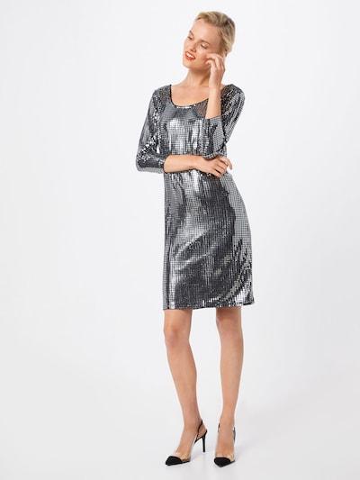 Suknelė 'VIBEYLA 3/4 DRESS/TB' iš VILA , spalva - juoda / Sidabras: Vaizdas iš priekio
