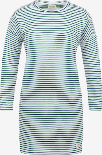 Desires Sweatkleid 'Helena' in blau / grün / weiß: Frontalansicht